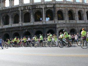 electric bike tour rome spanish english